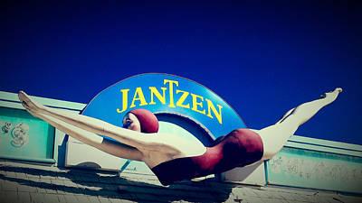 Photograph - Jantzen Girl by Gail Lawnicki