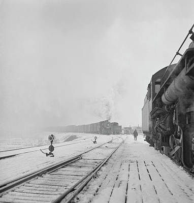January 1943 - Freight Operations Art Print