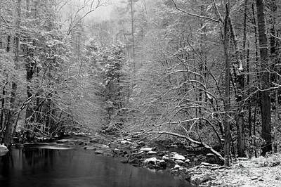 River Scenes Photograph - January Gift by Michael Eingle