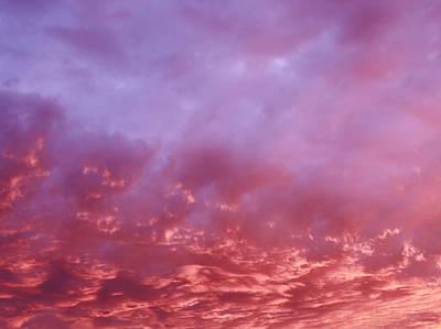 January Sky Art Print