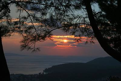 Photograph - January Sunset Akyaka by Tracey Harrington-Simpson