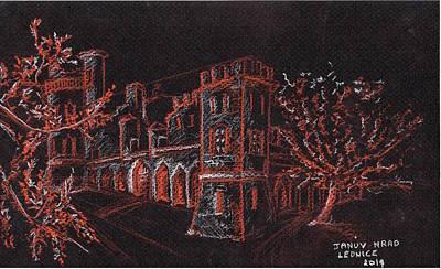 Januv Hrad Art Print by Blarghy Zgniegkopf