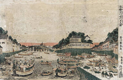 Painting - Japan Fukagawa, C1770 by Granger