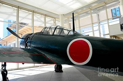 Photograph - Japan Imperial Air Force World War Two Zero Fighter Airplane by Imran Ahmed