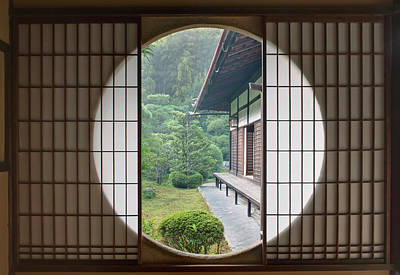 Japan House Photograph - Japan, Kyoto, Sesshuji Temple, Tea by Rob Tilley