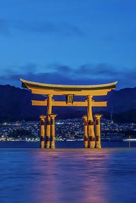 Japan, Miyajima, Itsukushima Shrine Art Print