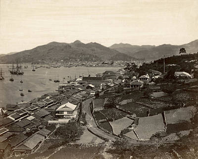1880s Photograph - Japan Nagasaki, 1880s by Granger