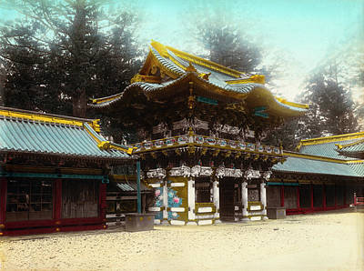 Shinto Temple Photograph - Japan Nikko, C1900 by Granger