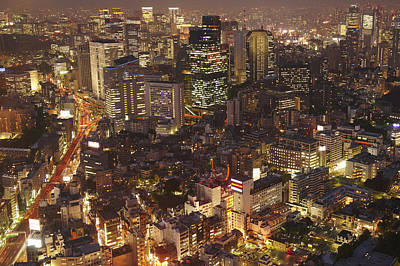 Japan, Tokyo, View Of Rappongi Hills Print by Tips Images