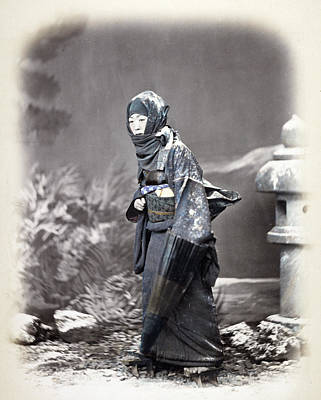 Photograph - Japan Woman, C1868 by Granger