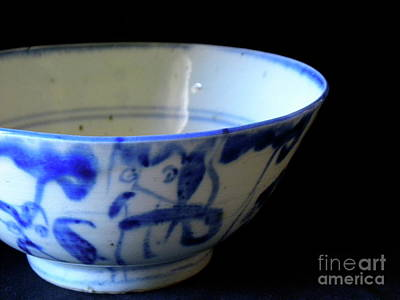 Japanese Ceramics Photograph - Japanese Bowl 1 by Laura Yamada
