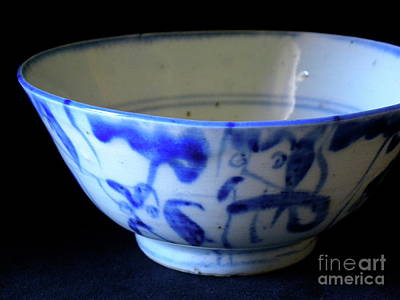 Japanese Ceramics Photograph - Japanese Bowl 2 by Laura Yamada