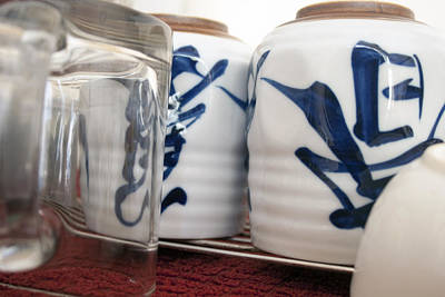 Japanese Ceramics Photograph - Japanese Cups by Oswald Phills