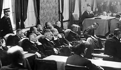 Treaty Photograph - Japanese Diet Apology by Underwood & Underwood