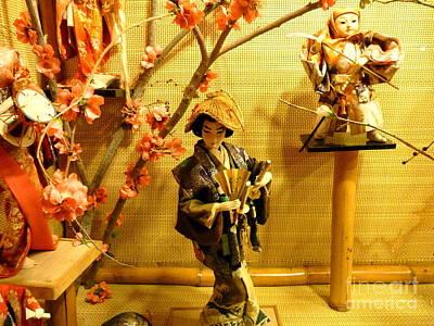 Photograph - Japanese Dolls by John Potts