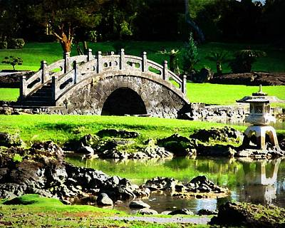 Photograph - Japanese Garden 2 by Timothy Bulone