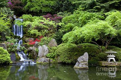 Photograph - Japanese Garden by Brian Jannsen