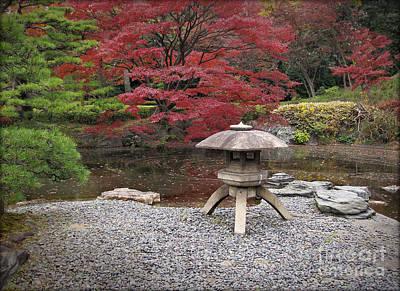 Photograph - Japanese Garden by Eena Bo