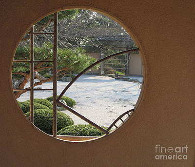 Art Print featuring the photograph Japanese Garden by Kathie Chicoine