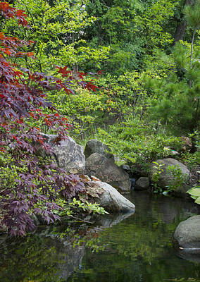 Photograph - Japanese Garden by Larry Bohlin