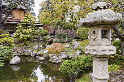 Outside Photograph - Japanese Garden No.1 - San Francisco by Michael Evans