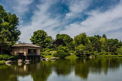 Photograph - Japanese Garden by Randy Scherkenbach