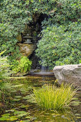 Photograph - Japanese Garden Tranquility - Zilker Garden Austin Texas by Silvio Ligutti
