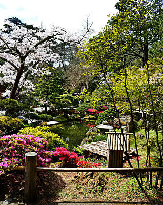 Photograph - Japanese Gardens by Holly Blunkall