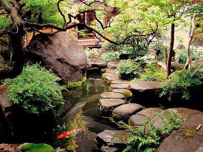 Photograph - Japanese Home Garden by John Potts