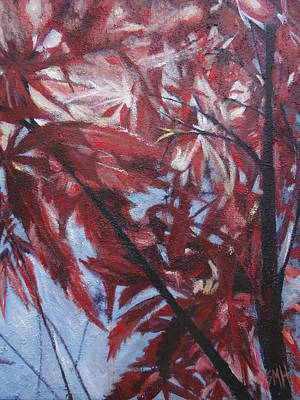 Painting - Japanese Maple by Sheila Holland