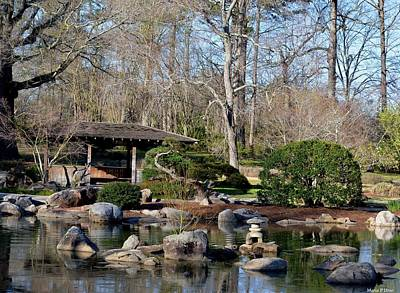 Photograph - Japanese Rock Garden by Maria Urso