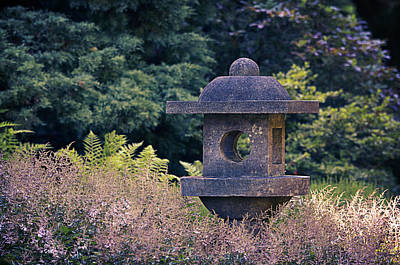 Lantern Digital Art - Japanese Stone Lantern by Maria Angelica Maira
