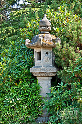 Photograph - Japanese Style Garden Decor Art Prints by Valerie Garner
