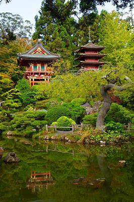 Photograph - Japanese Tea Garden by Celso Diniz