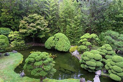 Japanese Tea Garden, Golden Gate Park Art Print by Susan Pease