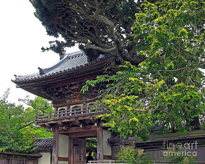 Photograph - Japanese Tea Garden Pagoda. Golden Gate Park by Connie Fox