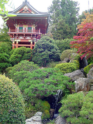 Photograph - Japanese Tea Garden by Vadim Levin