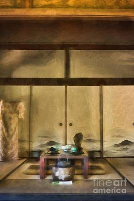 Photograph - Japanese Tea Room by Peggy Hughes