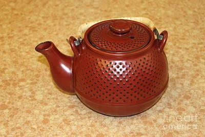 Japanese Ceramics Photograph - Japanese Teapot by Henrik Lehnerer