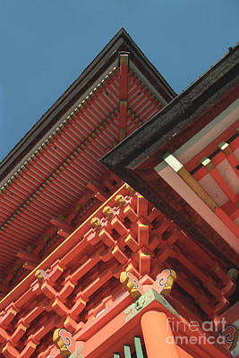 Photograph - Japanese Temple Photograph - Shinto Chevrons by Sharon Hudson
