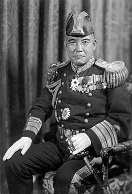 Japanese Vice Admiral Nomura Art Print by Underwood Archives