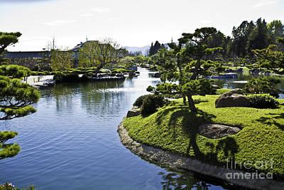 Photograph - Japanese Water Garden by Richard J Thompson
