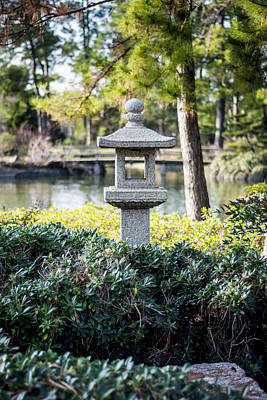 Photograph - Japanese Welcoming Lantern by David Morefield