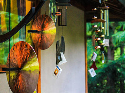 Photograph - Japanese Wind Chimes by Patricia Babbitt