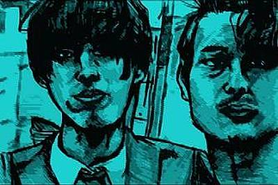 Kendo Wall Art - Digital Art - Japanese Youths by Mike Miller