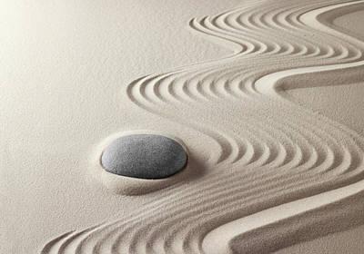 Japanese Zen Garden 21x30 Art Print by Dirk Ercken