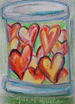 Pastel - Jar Of Hearts by Racquel Morgan