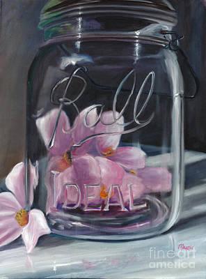 Jar Of Spring Original by Marnie Bourque