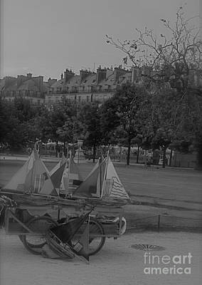 Photograph - Jardin Des Tuileries by Louise Fahy