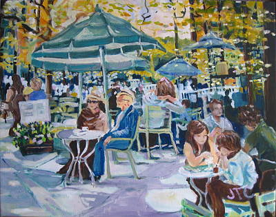 Painting - Jardin Du Luxembourg by Julie Todd-Cundiff